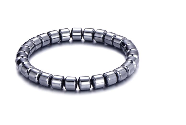 £5.49 instead of £16 (from Philip Jones) for a men's hematite bracelet - save 66%