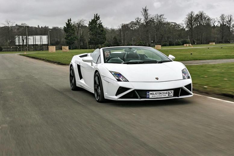 Activities: Lamborghini Supercar Driving Experience & Hot Lap - 10 Locations!