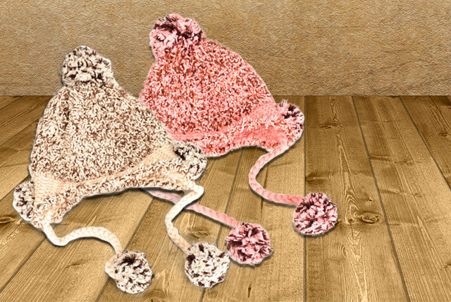 £8 instead of up to £25 (from Boni Caro) for a knitted woolly bobble hat - stay cute and cosy this winter and save up to 68%