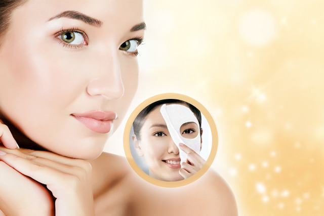 £10 instead of £99.95 (from SalonBoxed) for 10 luxury collagen face masks - save 90%