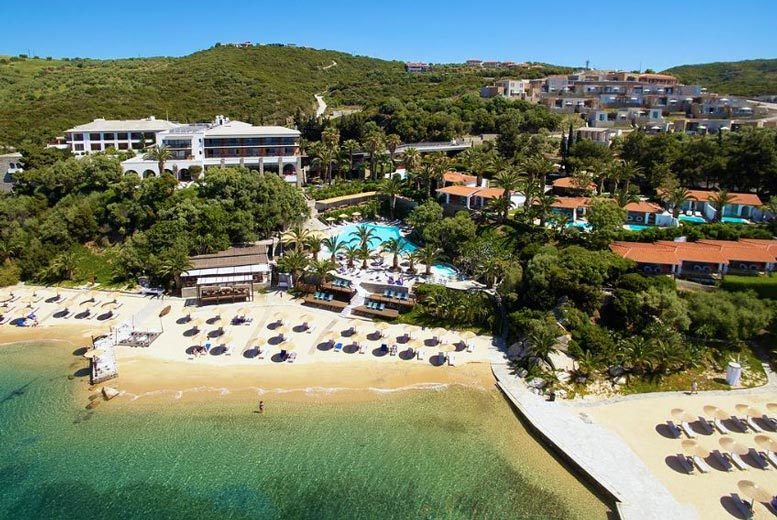 Beach Holidays: 7nt 5* Half-Board Halkidiki Holiday & Flights - Summer 2020 Dates!