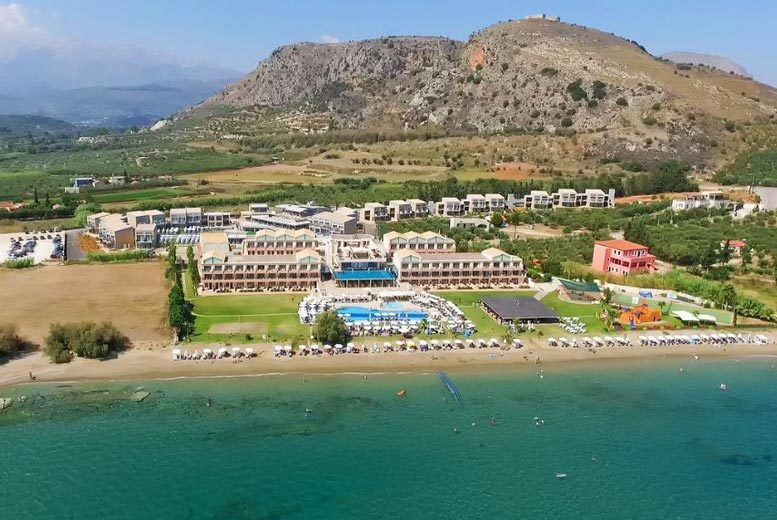 Beach Holidays: 7nt 5* All-Inclusive Crete Beachfront Escape & Flights