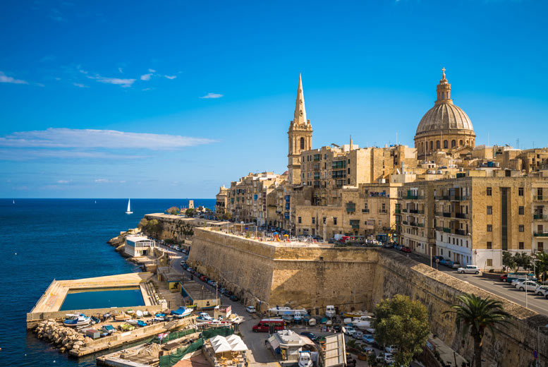 Beach Holidays: 4* All-Inclusive Malta Beach Break & Flights - Award-Winning Hotel!