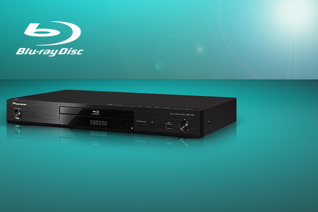 £99.99 instead of £185 for a Pioneer BDP160K 3D Blu-ray player - save 46%