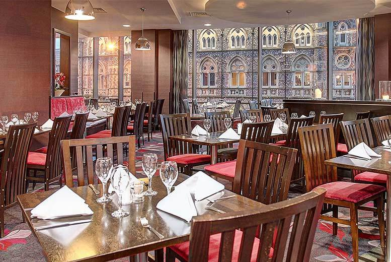 Restaurants & Bars: 2-Course Brunch & 'Bottomless' Bubbly for 2 @ 4* Clayton Hotel Cardiff
