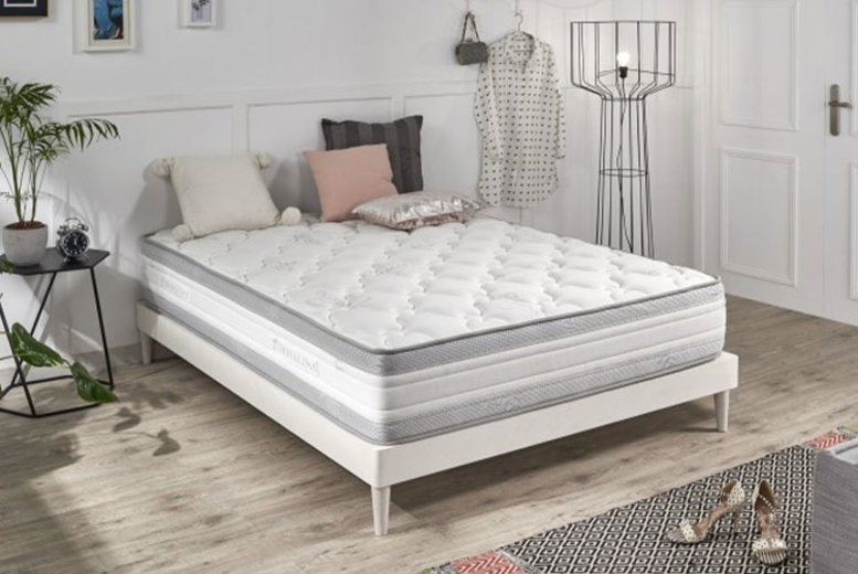 Grey Memory Foam Luxury Mattress – 4 Sizes! (£99)