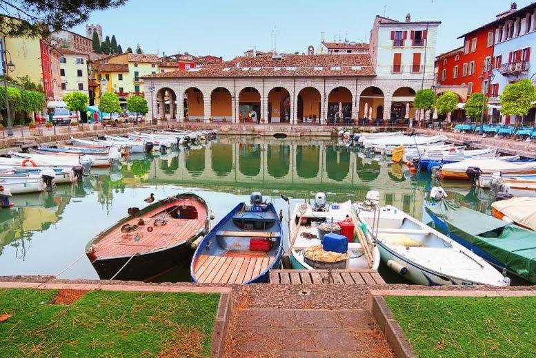 European City Breaks: 5* Lake Garda Spa Escape - Private Beach & Desenzano Location!