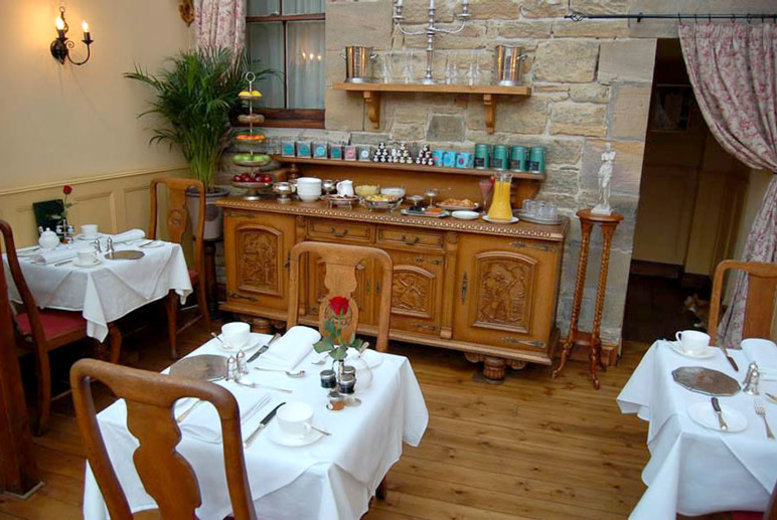 Spas & Country House: 2nt 5* Northumberland Stay for 2 - Breakfast, Cheese & Wine!