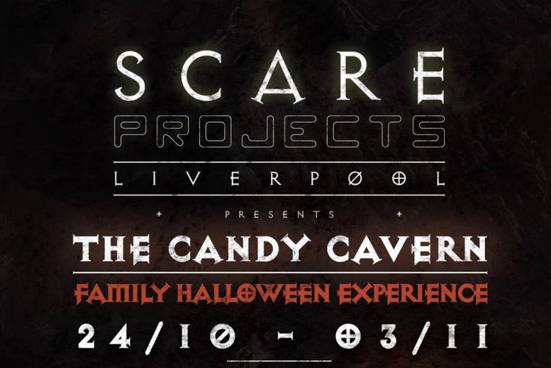 Entertainment: Tkt to Candy Cavern Halloween Experience, Liverpool – Group Upgrade