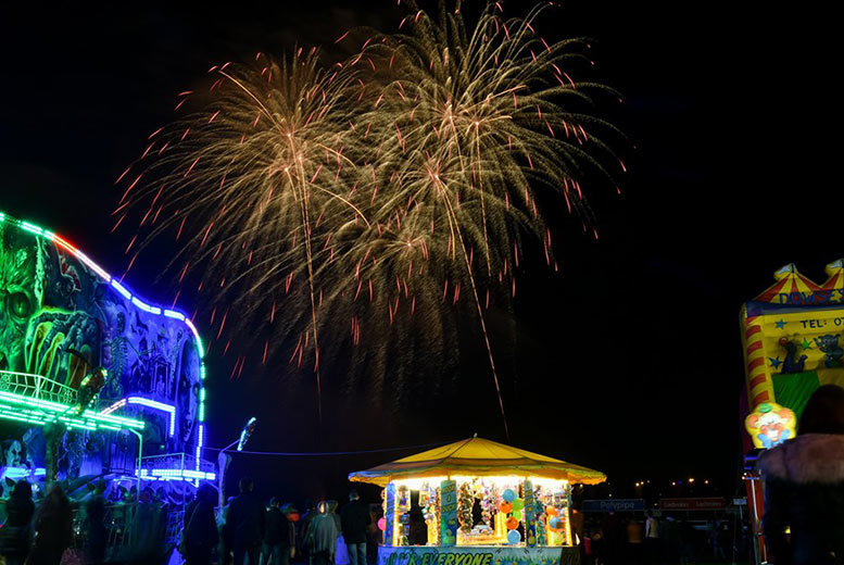 Activities: Doncaster Racecourse Fireworks Spectacular Ticket - Family Option!