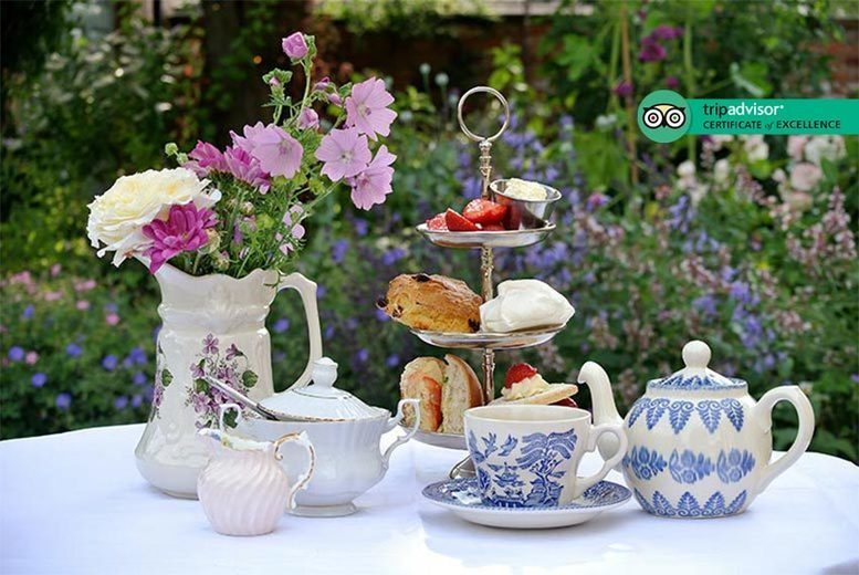 Food and Drink: Vineyard Tour With Tasting & Unlimited Cream Tea – For 2 Or 4!