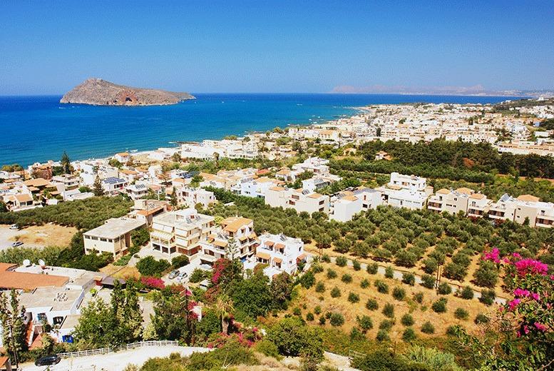 Beach Holidays: 4* Crete Half-Board Getaway & Flights - Sea View Stay!