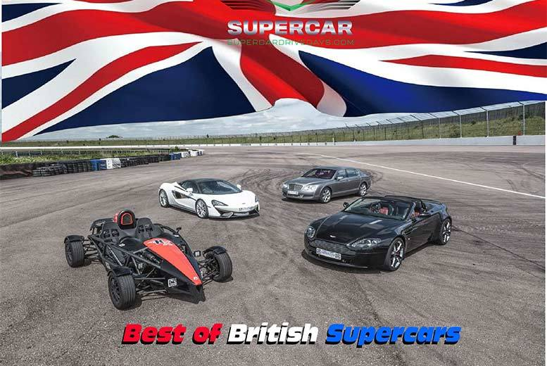 Activities: Best Of British Supercar Driving Experience – 11 Locations!