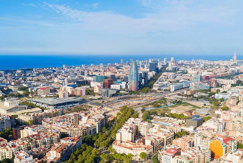 European City Breaks: 4* Barcelona, Flamenco Show at Tablao de Carmen & Flights
