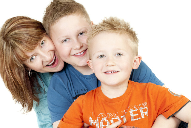 "£5 instead of £59.99 for a 1hr family photoshoot inc. 10"" x 8"" print & wine at Daniel Moore Photography, Stone - save 92%"