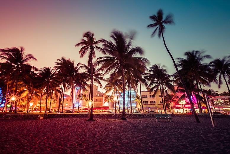 Long Haul & Cruises: Miami City Escape with Flights & Ocean View Room