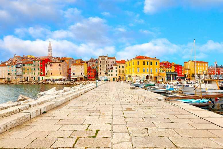 Beach Holidays: 5* Sea View Half-Board Croatia Holiday & Flights
