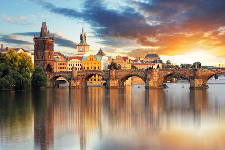 European City Breaks: Romantic Prague Escape, Breakfast & Flights - 4* Hotels!