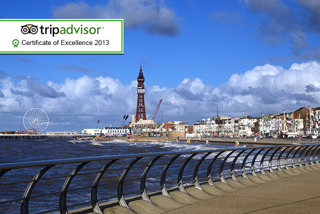 From £49 instead of £110 (at Sandford Promenade) for a 2nt Blackpool stay for 2 inc. breakfast & one lunch - save up to 55%