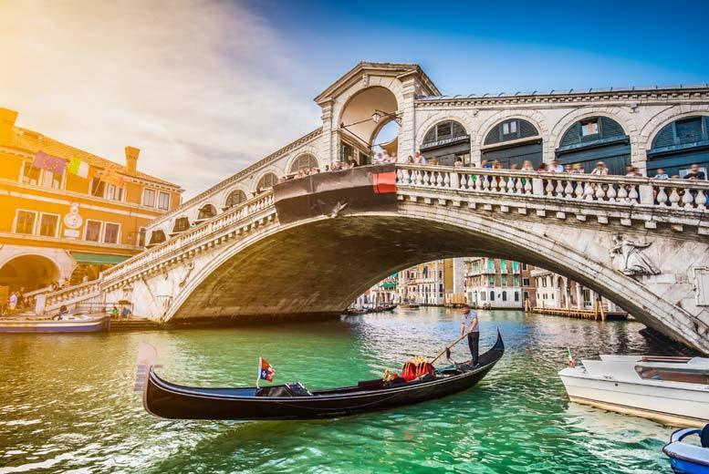 European City Breaks: 4* or 5* Venice Escape, Breakfast & Flights - Optional Gondola Ride!