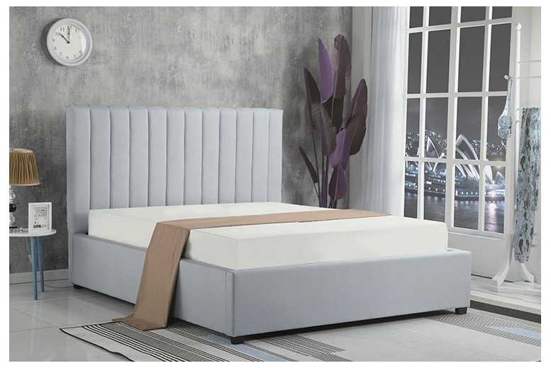 From £189 (from The Mattress) for a double fabric gas lift ottoman bed or £279 for a bed and mattress – choose your colour and size and save up to 87%