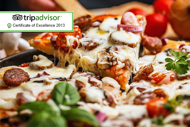 £12 instead of up to £26.20 for a pizza or pasta lunch for 2 inc. a glass of wine each at Positano Italian Restaurant, Edinburgh - save up to 54%