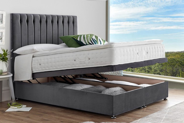 From £319 instead of £400 (from Serenity Designs) for an end-lift ottoman divan storage bed, or from £399 for a bed with a pillow-top pocket sprung mattress – choose from five sizes and eight colours and save up to 20%