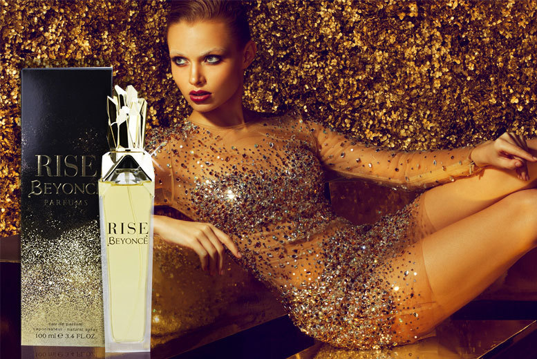 £10 instead of £36.96 (from Online Beauty Deals) for a 100ml bottle of Beyoncé Rise eau de parfum - save 75%