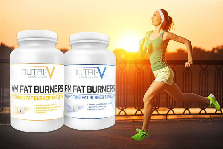 £6 instead of £35 (from Nutri-V) for a one-month* supply of AM to PM 'fat burner' supplements - save 83%