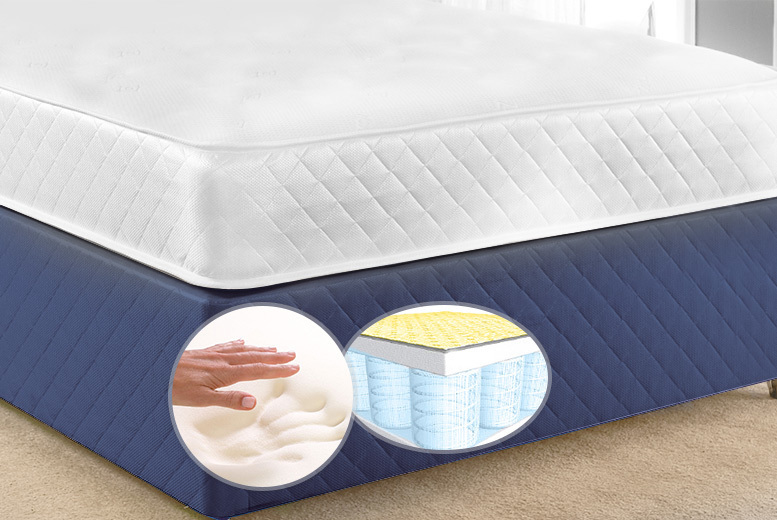 Luxury CoolTouch Memory Pocket Spring Mattress