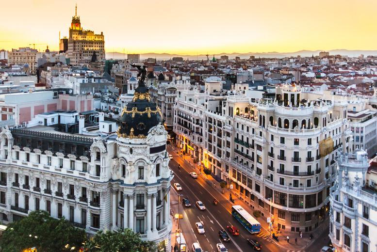 From £119pp instead of up to £200pp (from Mundo Tour) for a ticket to see the Tennis Open in Madrid inc. 1nt accomodation & b'fast