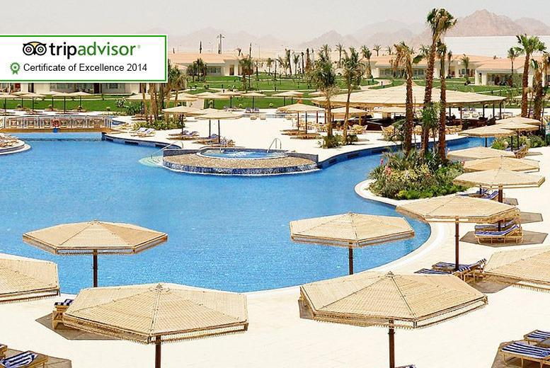 From £299pp instead of up to £408.98pp (from Seasonal Holidays) for a 5nt all-inc. Sharm El Sheikh break inc. flights, £369 for 7nts - save up to 28%
