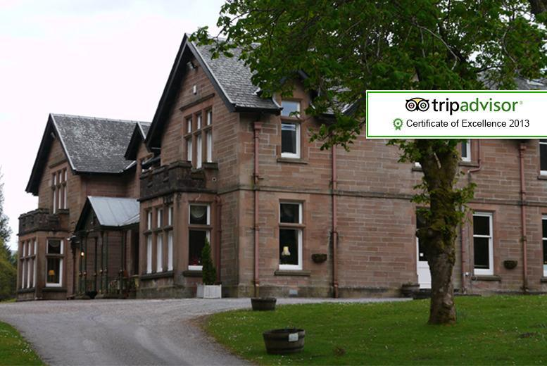 From £129 (from Ledgowan Lodge Hotel) for a 2-night stay for 2 inc. b'fast, Champagne, afternoon tea an