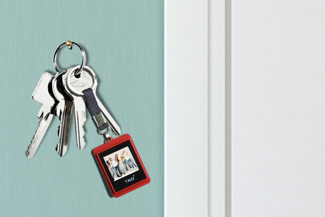 £9.99 instead of £17 (from 2tech) for a TAO digital photo key chain in black or red - save 41%