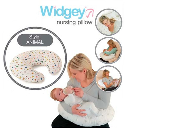 £13.99 instead of £27.04 (from PHP Gift & Baby Ltd) for a widgey nursing pillow - save 48%