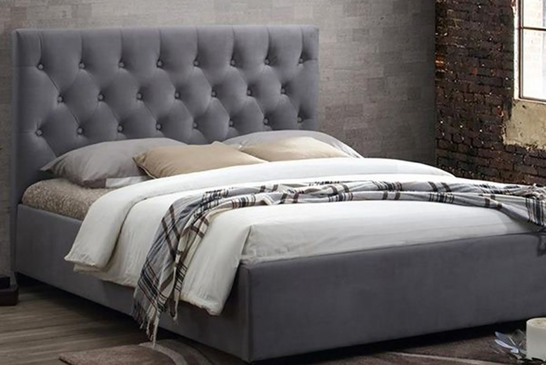 £229 (from Luxudore Interiors) for a double Eviz city bed frame, £249 for a king size Eviz city bed frame, or £269 for a super king size Eviz city bed frame