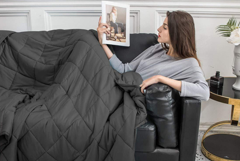 "Weighted ""˜Anti-Anxiety' Blanket (£27)"