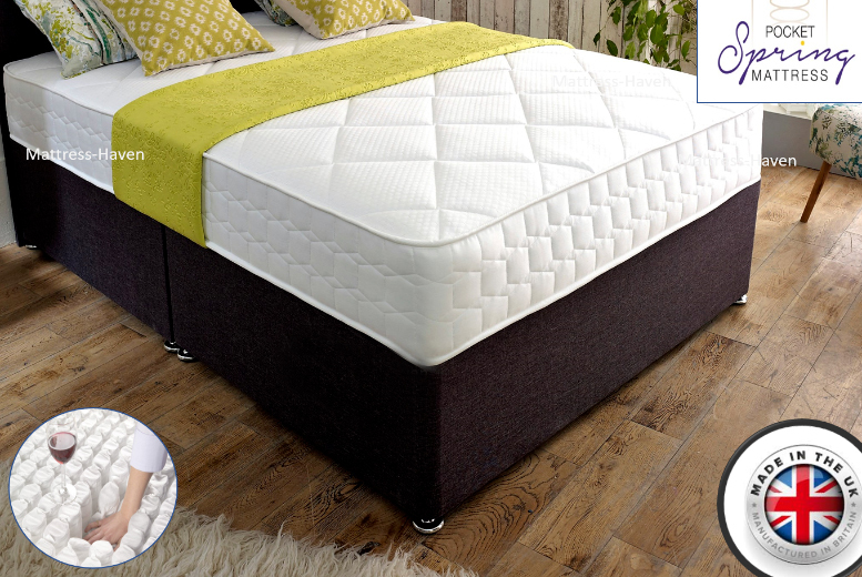 From £199 for single mattress, £249 for a small double & double mattress or (£279) for a king memory foam mattress from Mattress Haven - save up to 75%