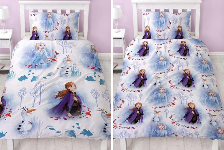 Frozen 2 Reversible Duvet Cover Set – 2 Sizes! (£12.99)