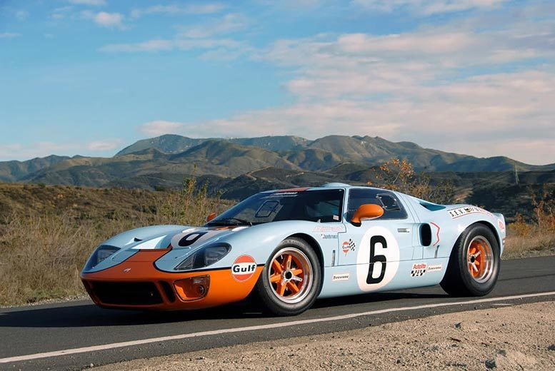 £39 for a Ford GT40 driving blast experience at one of five locations from Buyagift