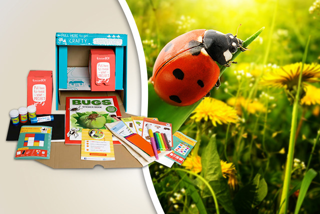 £4.99 instead of £9.95 (from Toucan Box) for a Grande toucan box with 2 activities, or £7.99 for a Super toucan box with 4 - save up to 50%