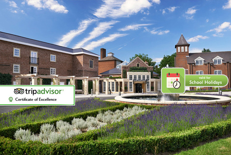 From £129 (at The Belfry) for an overnight 4* Belfy break for two including breakfast and Cadbury World entry, from £139 for a family of four -  save up to 54%