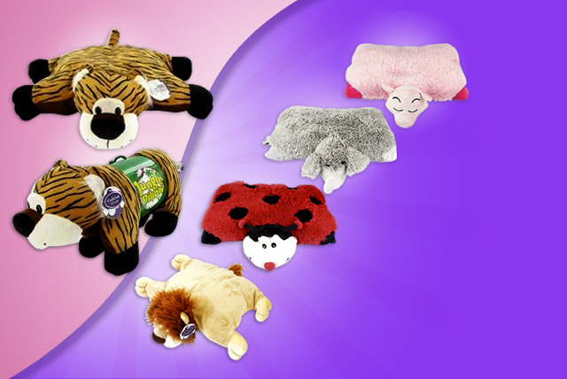 £9.99 instead of £29.95 (from London Exchainstore) for a child's pillow pet - save a dreamy 67%