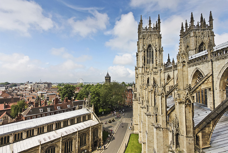 £89 (from Great Little Breaks) for a 1nt stay for 2 people inc. afternoon tea, dinner & breakfast at the Hotel Tulip Inn, York - save up to 31%