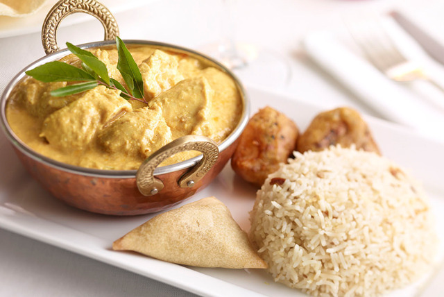 £17 instead of up to £35.80 for a 2-course Indian meal for 2 inc. starter, main, rice, naan and tea or coffee each at AlBani Spice, Burslem - save up to 53%