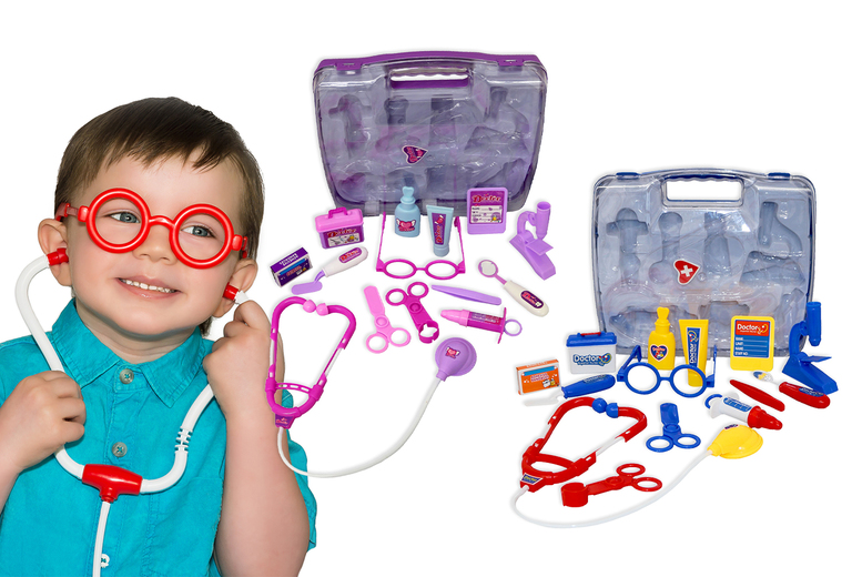 Children's Toy Medical Kit – 2 Colours!