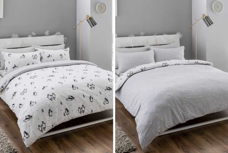 Reversible Christmas Bedding Set – 5 Designs & 3 Sizes (£14.99)