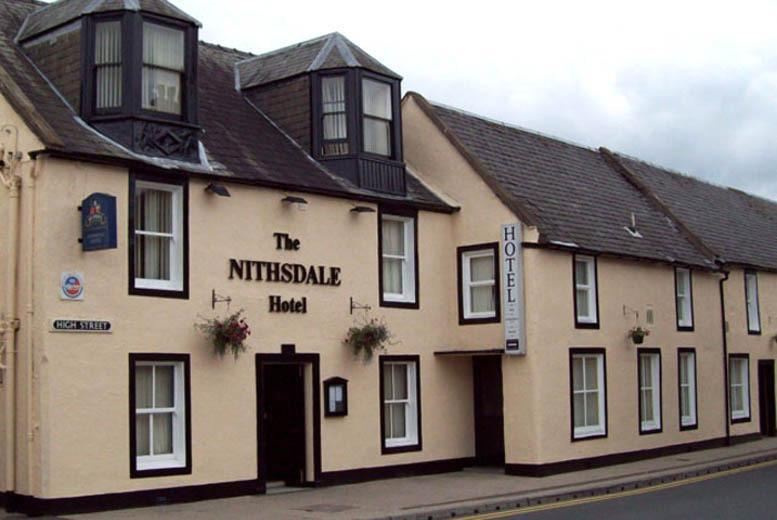 £39 (at The Nithsdale Hotel) for a 1nt stay for 2 inc. breakfast, £89 for 2nts inc. breakfast, dinner & bottle of sparkling perry - save up to 44%