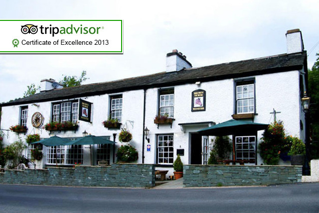 £99 for a 2-night stay for 2 inc. breakfast and spa day passes at The Brown Horse Inn, Lake District - save up to 50%