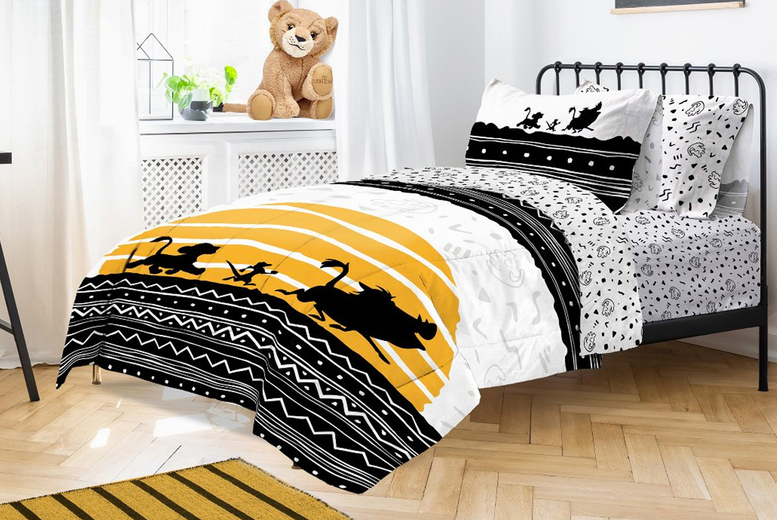 Lion King Tribal Sunrise Duvet Cover Set – 2 Sizes! (£19)